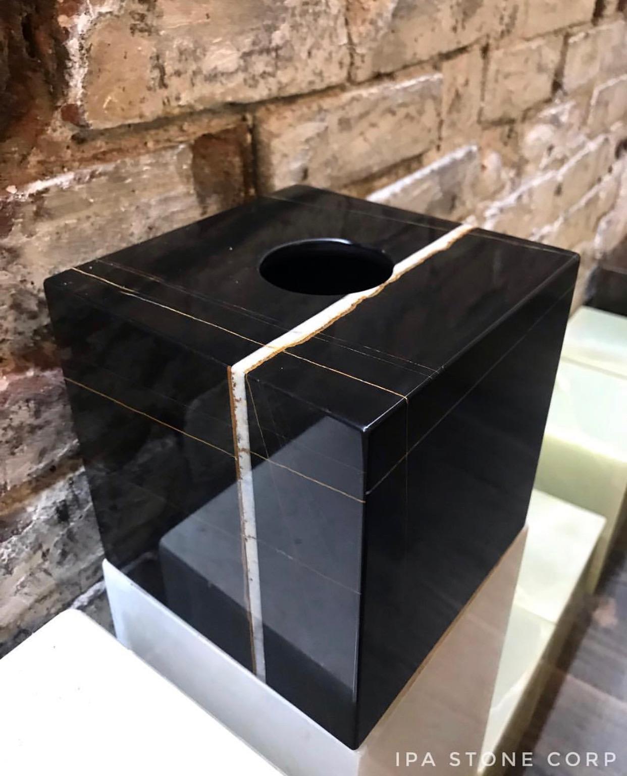 Napkin Holder box, African St.Laurent