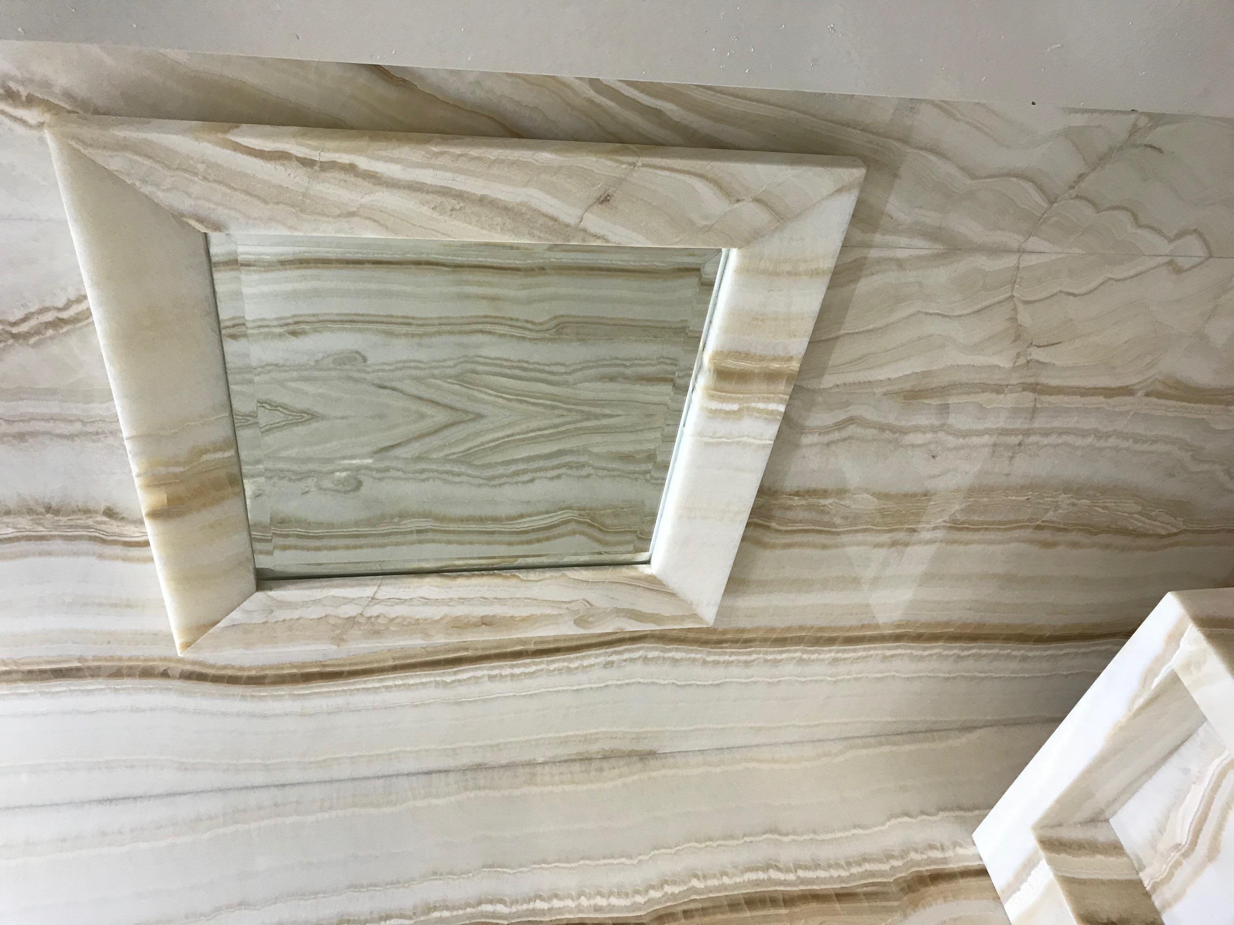 IvoryOnyx Mirror Frame